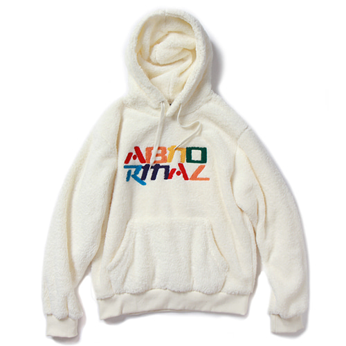 RBL FLEECE HOOD (WHITE)