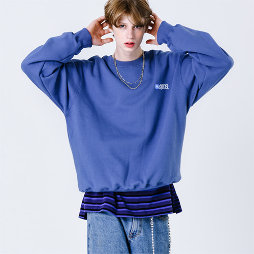 SC MINI CREWNECK (BLUE)