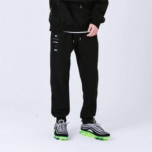 TVC TRAINING PANTS (BLACK)