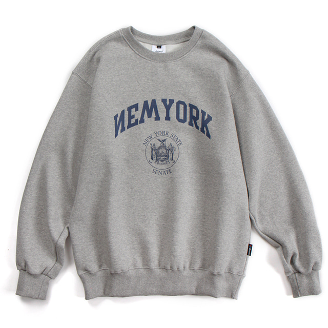 NYC CREWNECK (GRAY)