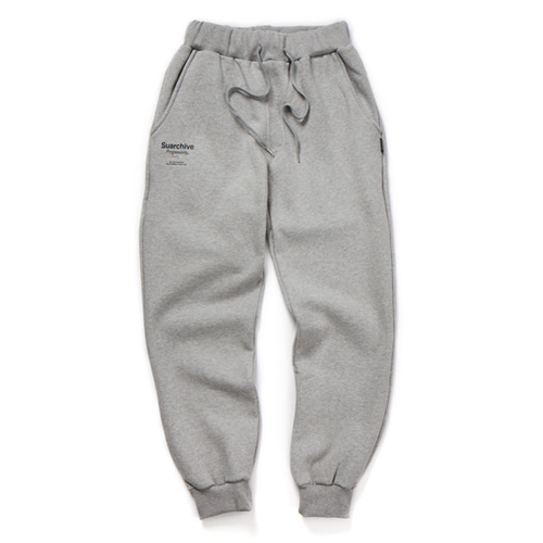 SUARCHIVE20 SWEAT JOGGER PANTS (GRAY)
