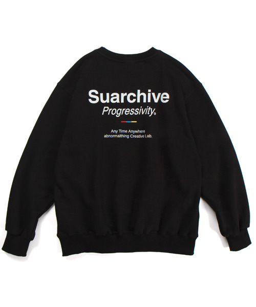 SUARCHIVE CREWNECK (BLACK)