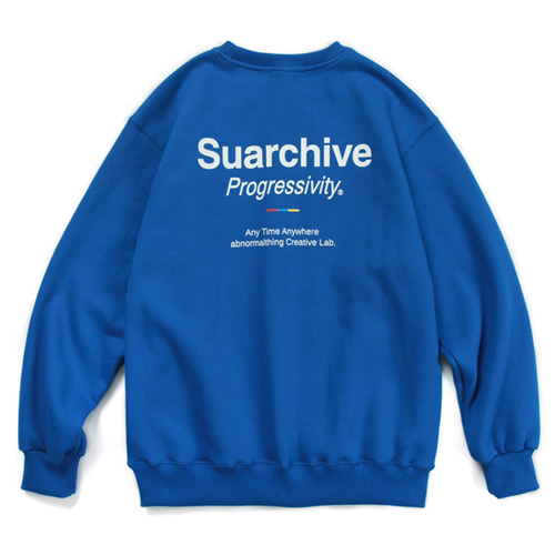 SUARCHIVE CREWNECK (DEEP BLUE)